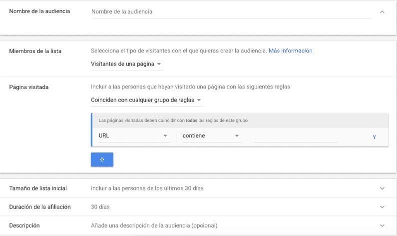 configuración Google Ads