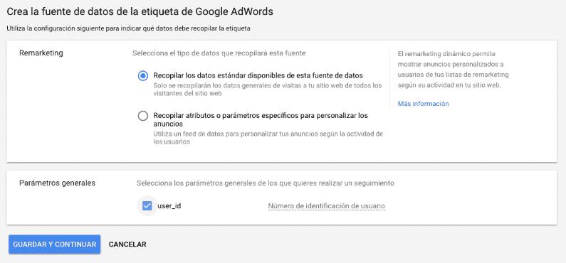 etiquetas Google Ads