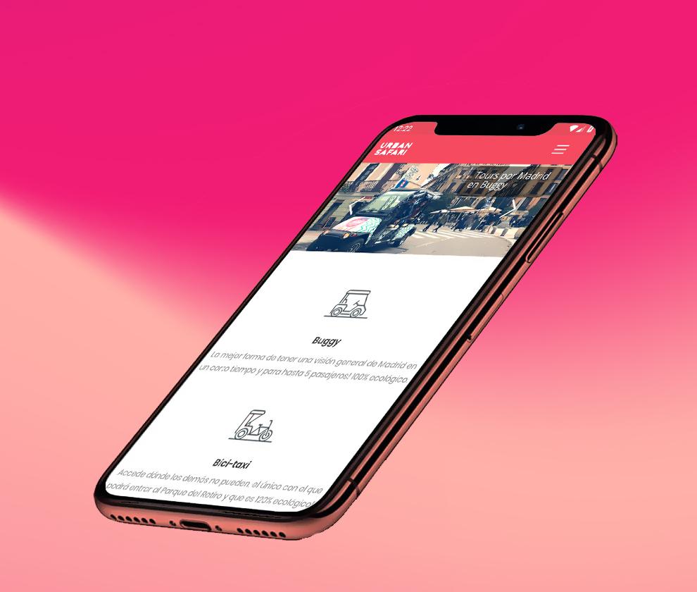 Urban safari aplicación móvil para Android